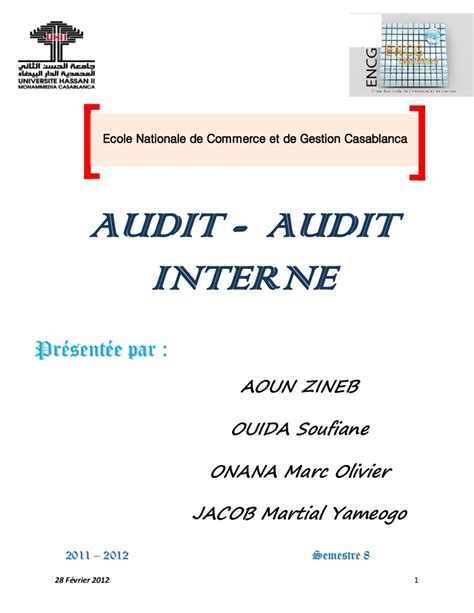 Cabinet D Audit Interne by Cabinet D Audit Interne