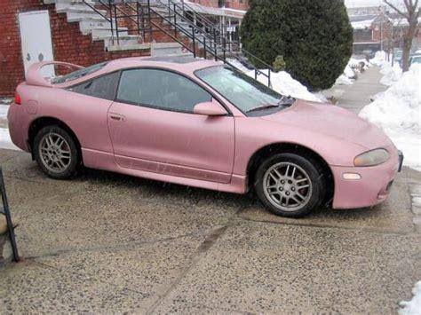 pink mitsubishi eclipse find used pink 1999 mitsubishi eclipse gs hatchback 2