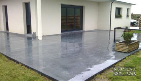 Revetement Sol Terrasse Beton 2573 by Pose De Rev 234 Tements Marbreline 174 224 Base De Gravillons De