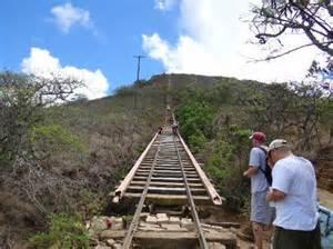 Koko Head Stairs Of Doom by Koko Head Hike Bridge Www Imgkid Com The Image Kid Has It