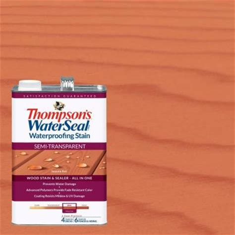 thompsons waterseal  gal semi transparent sequoia red