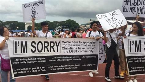 Christian Groups Plan Anti Celebration by Christians Pride Parade Marchers With Signs