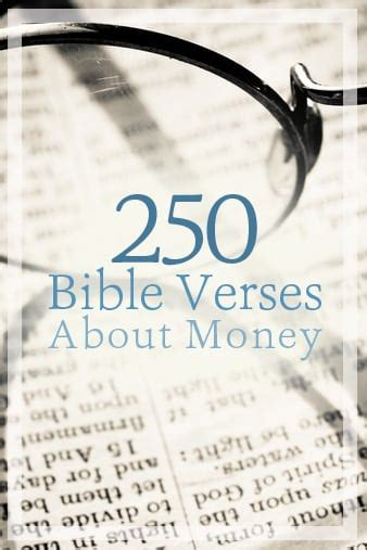 Bible Quotes About The Of Money by Christian Quotes About Money Quotesgram