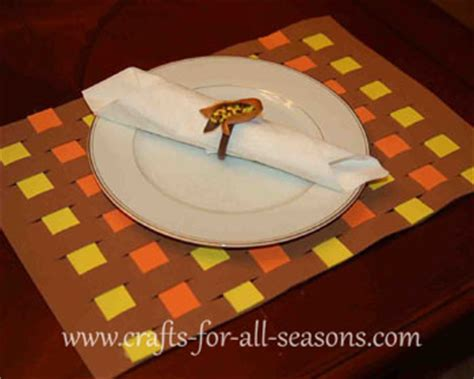thanksgiving placemat craft for thanksgiving place mat