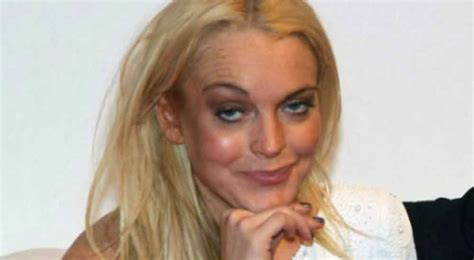 Is Lindsay Lohan These Days by 16 Scary Photos From Lindsay Lohan S Trashy Days