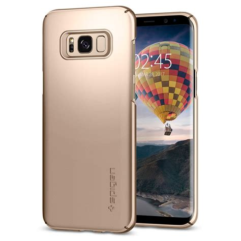 Spigen Galaxy S8 Thin Fit Maple Gold чехол spigen thin fit gold maple для samsung galaxy s8