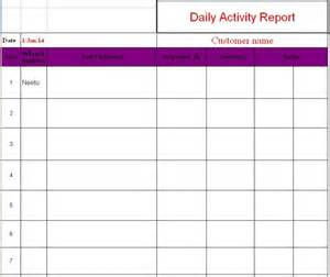 Weekly Expense Report Template Free life daily activity report format in excel helloalive
