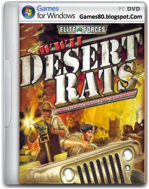 full and free version games download wwii desert rats free download pc game full version