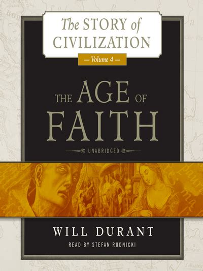 the awakening book seven age of faith volume 7 books the age of faith story of civilization series book 4 by