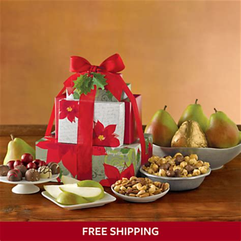 gift baskets towers food gifts harry david
