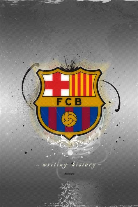 wallpaper anti barcelona fc barcelona logo light iphone wallpaper hd free