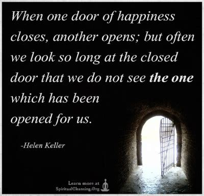 When A Door Closes by Spiritualcleansing Org Wisdom Inspirational