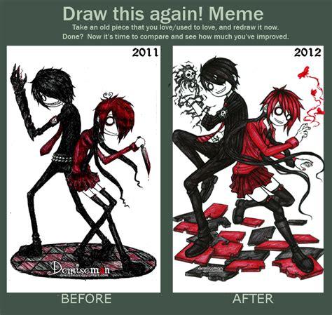 Draw This Again Meme Template - draw this again meme by demiseman on deviantart