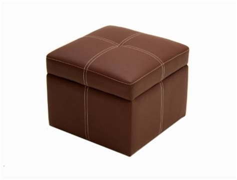 Small Ottoman Seat New Home Coffee Brown Small Square Ottoman Seat Footstool