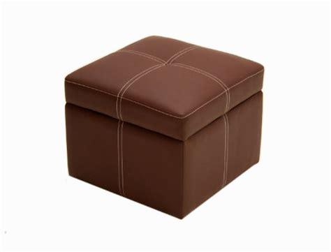 Small Square Ottoman New Home Coffee Brown Small Square Ottoman Seat Footstool Storage Compartment Ebay
