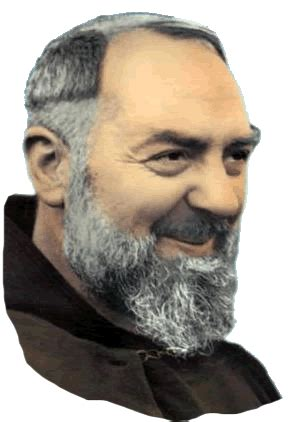 affectionate warm padre pio