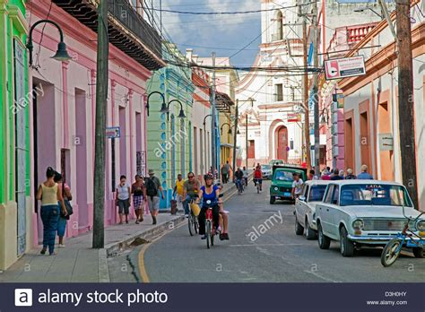 how to buy a house in cuba street scene showing pastel coloured houses in the city camag 252 ey stock photo royalty