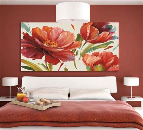 quadro fiori quadro floreale moderno 180x90 sta su tela wa440te180x90