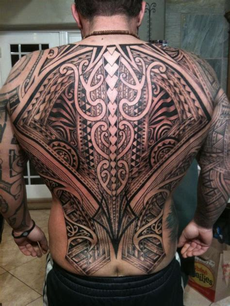 small maori tattoo back maori design of tattoosdesign of tattoos