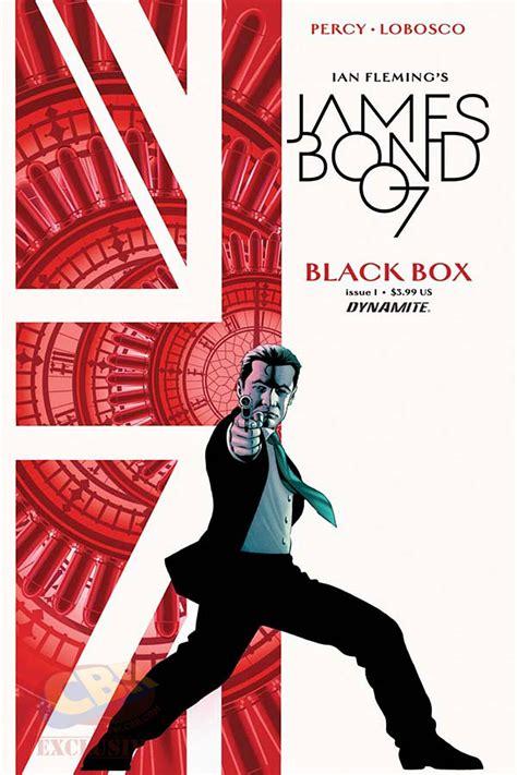 the book bond next dynamite james bond series will be black box