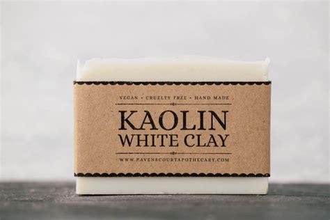 Kaolin Clay kaolin white clay soap ravenscourt apothecary