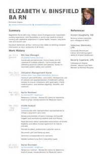 Rn Case Manager Resume samples   VisualCV resume samples