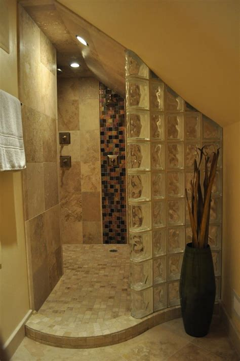 glass block bathroom designs glass block shower designs photos