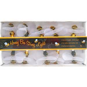 bumble bee string lights honey bee string lights insects bugs garden