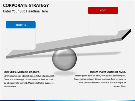 Cost Benefit Analysis Powerpoint Template Sketchbubble Cost Benefit Analysis Powerpoint Template