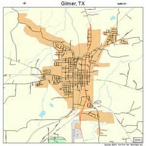 map of gilmer gilmer map 4829564