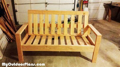 diy outdoor sofa myoutdoorplans  woodworking plans