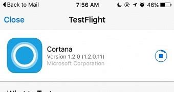 Microsoft Releases Cortana For Ios To Beta Testers Softpedia   microsoft removes hey cortana from android app because