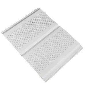 home depot metal siding amerimax home products 12 in x 12 ft aluminum soffit