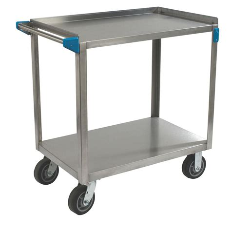 Home Depot Cart by Sandusky 21 In 4 Wheel Utility Cart With Liner