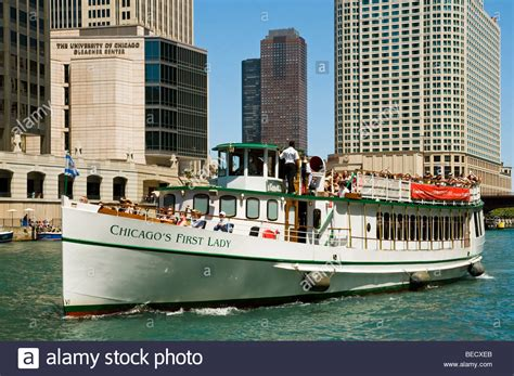 chicago boat tours first lady architectural tour boat quot chicago s first lady quot cruising up