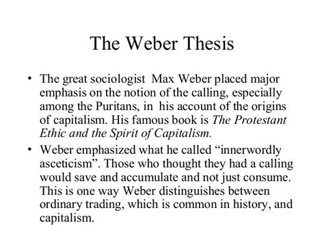 protestant ethic thesis weber thesis thesisukm web fc2