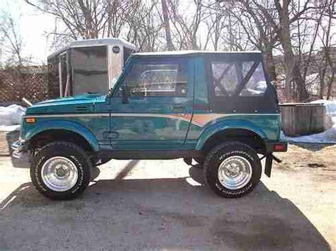 how to learn all about cars 1988 suzuki swift security system sell used 1988 suzuki samurai jx 4x4 all original never winter driven a must see in lake