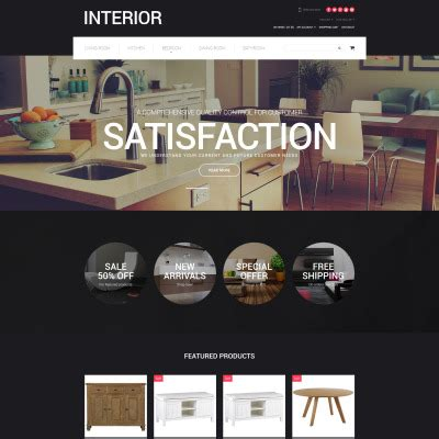 opencart furniture themes opencart interior templates