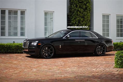customized rolls royce phantom rolls royce ghost adv08 m v1 sl ppg wheels adv 1 wheels