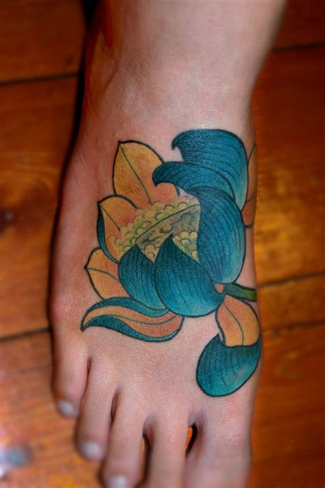 lotus foot tattoo lotus tattoos designs ideas and meaning tattoos for you