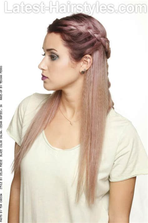 tie up hairstyles for round face 20 gorgeous formal half updos you ll fall in love with