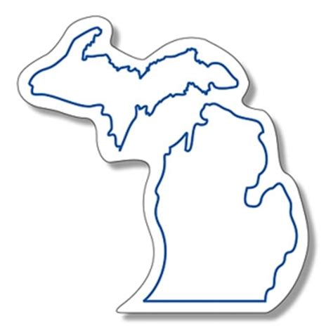 template of michigan picture of state of michigan clipart best
