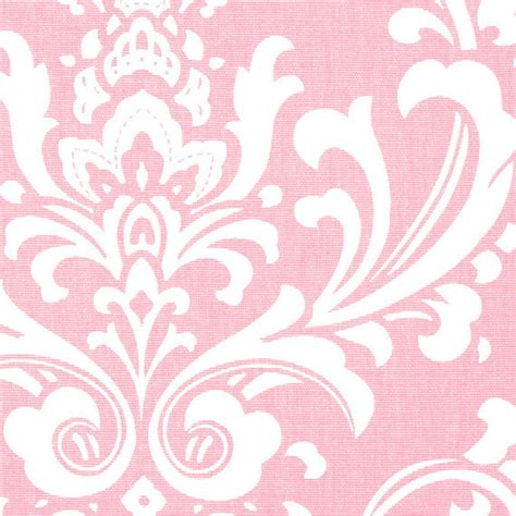pink damask upholstery fabric bella pink damask fabric by the half yard by