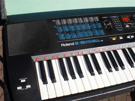 Keyboard Roland D10 Keyboard Roland E 15 Intelligent Synthesizer Catawiki