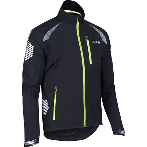 waterproof bike jacket wiggle dhb flashlight highline waterproof jacket