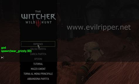 the witcher 3 console come usare i trucchi in the witcher 3