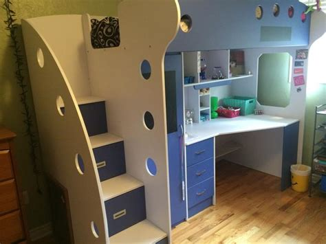 nika loft bed  jysk  year  excellent condition matress included saanich victoria