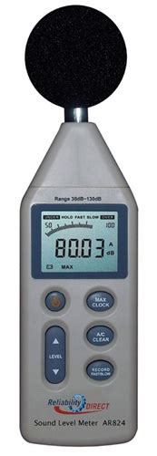 Sound Level Meter Ar824 reliability direct ar824 sound level meter