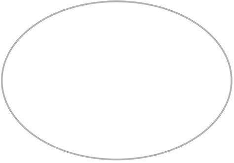 free shape templates to print best photos of free oval templates to print oval shape