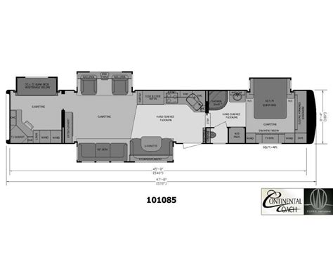 5th wheel cer floor plans wheel cer floor plans 2 bedroom 5th wheel home design